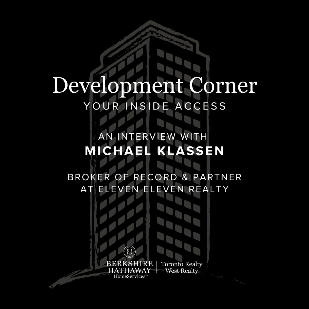 Development Corner Podcast – Eleven Eleven Realty